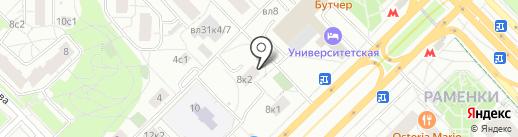 Безопасность на карте Москвы