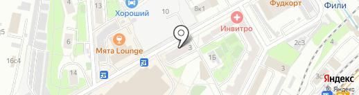 Цветовик на карте Москвы