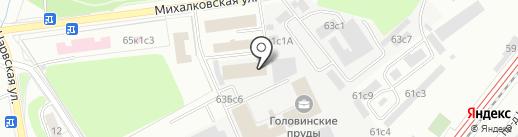 Профессиональные Русские Охотники на карте Москвы