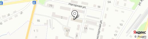Областная поисково-спасательная служба на карте Щёкино