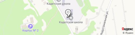 Первомайская кадетская школа на карте Первомайского