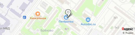 УниверСтрой на карте Москвы
