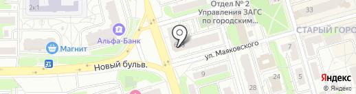 Диамед на карте Долгопрудного