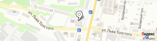 Московский Индустриальный банк на карте Щёкино