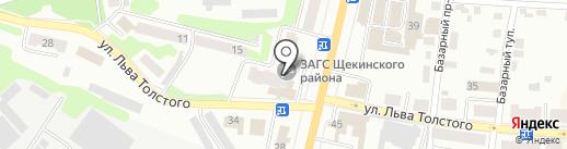 ЗАГС Щёкинского района на карте Щёкино