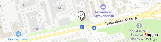 ПромТраст на карте Долгопрудного