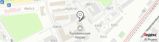 Ларнастрой на карте Москвы