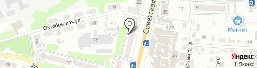 Лидертекстиль на карте Щёкино