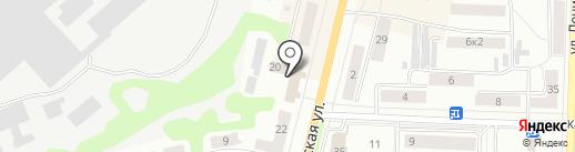Банкомат, ВТБ 24 на карте Щёкино