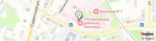 Росгострах-Медицина, ЗАО на карте Щёкино