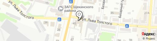 Тульский завод металлоконструкций на карте Щёкино