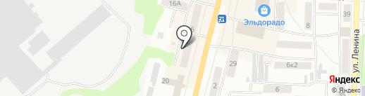 Олимп на карте Щёкино