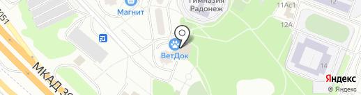Famas на карте Москвы