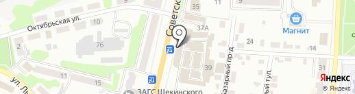 Магазин электроинструмента и сварочного оборудования на карте Щёкино