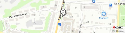 Магазин садово-огородного инвентаря на карте Щёкино