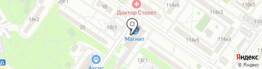 Модуль-Бизнес на карте Москвы
