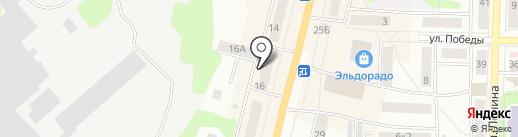 Яркий продавец на карте Щёкино