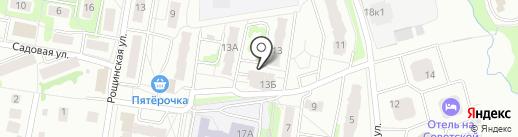 ЖИЛСОЦСТРОЙ на карте Климовска