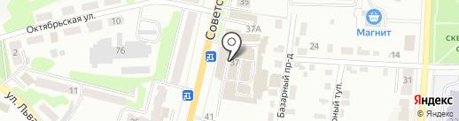 Торговая компания на карте Щёкино