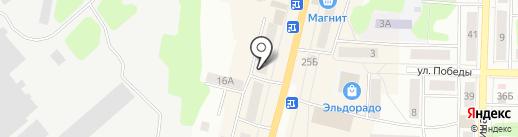 Клеопатра на карте Щёкино