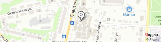 МК-Строй на карте Щёкино