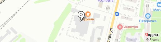 Гурман на карте Щёкино