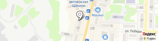 Тет-а-тет на карте Щёкино