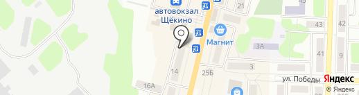 Мираж на карте Щёкино