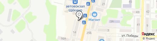 Дары Беларуссии на карте Щёкино