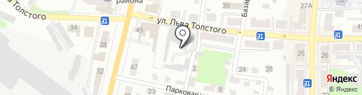 Щёкинский хлебокомбинат, ЗАО на карте Щёкино