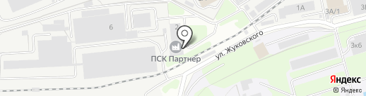 УПТК №122, ФГУП на карте Долгопрудного