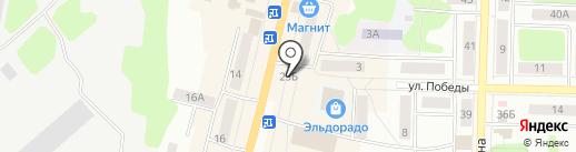 Мясной на карте Щёкино