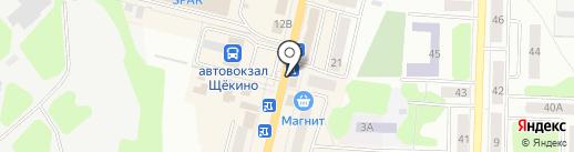 Займ-Экспресс на карте Щёкино