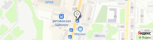 Play на карте Щёкино