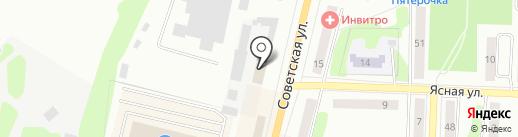 Банкомат, АБ Россия на карте Щёкино