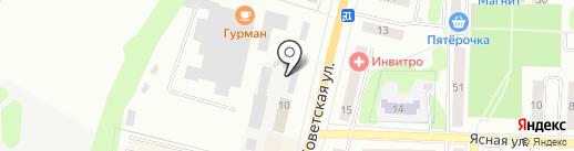 Газпром газораспределение Тула на карте Щёкино