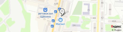 Filini на карте Щёкино