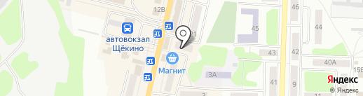Рукодельница на карте Щёкино