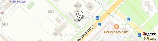 Посольство Швеции в г. Москве на карте Москвы