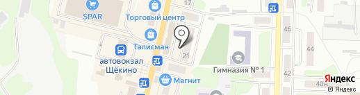 Прокуратура на карте Щёкино