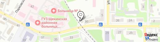 Виктория на карте Щёкино