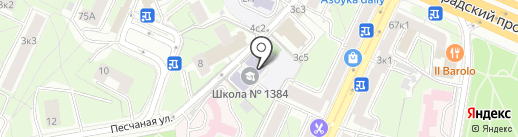 Союз дизайнеров Москвы на карте Москвы