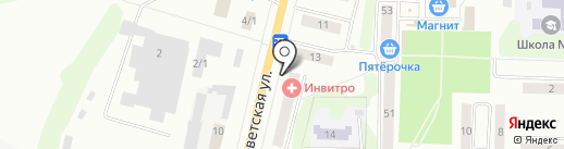 ВСК, СОАО на карте Щёкино