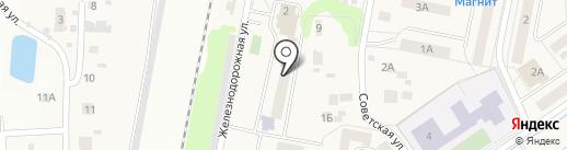 Львовская поселковая библиотека на карте Львовского