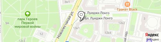 Автошкола на карте Москвы