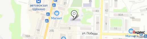 Детский сад №17 на карте Щёкино