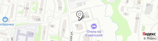 Салют на карте Подольска