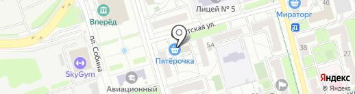 Платежный терминал, Московский кредитный банк, ПАО на карте Долгопрудного