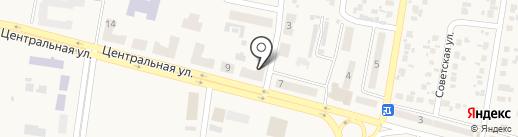 Багира на карте Красногоровки