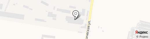 Красногоровский огнеупорный завод на карте Красногоровки